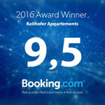 Booking Award Winner 2016
